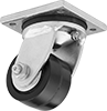 High-Capacity Debris-Guard Casters with Phenolic Wheels