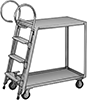 Built-In Ladder Carts