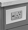 Flush-Mount Outlet Strips