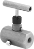 Threaded Precision Flow-Adjustment Valves with Vent Port