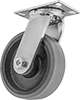 High-Capacity Viking Casters with Polyurethane Wheels