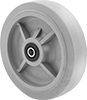 Water-Resistant Rubber Wheels