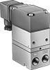 DIN-Mount Electronically Controlled Precision Compressed Air Regulators