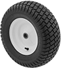 Pneumatic Wheels for Rubbermaid Trailers