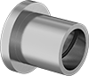 High-Temperature Dry-Running Flanged Sleeve Bearings