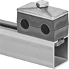 Two-Line Rail-Mount Vibration-Damping Routing Clamps