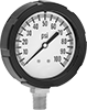 High-Clarity Vibration-Resistant Pressure Gauges