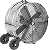 Corrosion-Resistant Direct-Drive Mobile Floor Fans