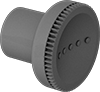 Metal-Detectable Threaded-Hole Knobs