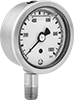 Vibration- and Corrosion-Resistant Pressure Gauges