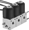 Create-a-Manifold Threaded Solenoid Diverting Valves