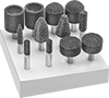 Hex-Shank Grinding Bit Sets for Metals