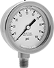 High-Accuracy Vibration- and Corrosion-Resistant Pressure Gauges