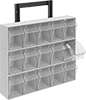 Design-Your-Own Wall-Mount Tilt-Out Bin Racks