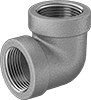 Low-Pressure Stainless Steel Threaded Pipe Fittings