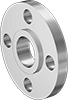 Low-Pressure Stainless Steel Unthreaded Pipe Flanges