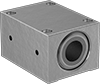 Frictionless-Motion Mounted Linear Air Bearings