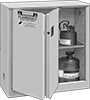 Bench-Height Safety Cabinets for Flammables