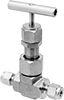 Precision Flow-Adjustment Valves with Yor-Lok Fittings