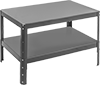 Low-Profile Adjustable-Height Steel Tables