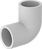 UV-Resistant Standard-Wall PVC Pipe Fittings for Water
