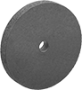 Bench and Pedestal Grinding Wheels with Rubber-Cushioned Abrasive for Soft Metals