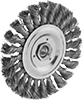 Aggressive-Cleaning Wheel Brushes