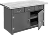 Heavy Duty Large-Capacity Cabinet Workbenches