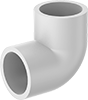 Standard-Wall Plastic Pipe Fittings for Water