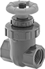 Threaded Gradual On/Off Valves for Chemicals