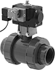 High-Flow Air-Driven On/Off Valves for Chemicals