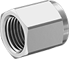 Nuts for Compression Fittings for Stainless Steel Tubing