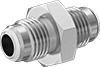 Vibration-Resistant Precision AN 37° Flared Fittings for Stainless Steel Tubing