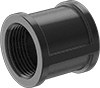 Low-Pressure Iron Threaded Pipe Fittings with Right-Hand and Left-Hand Threads