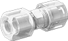 High-Temperature Compression Tube Fittings for Food and Beverage