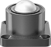 Heavy Duty Flange-Mount Ball Transfers