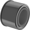 High-Speed Panel-Mount Dry-Running Sleeve Bearings