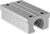 High-Load Mounted Linear Sleeve Bearings for Support Rail Shafts
