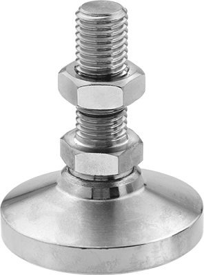 w//protective nylon washer Stainless Steel Rest Mounting Screw 5//16-24 3//4 Long