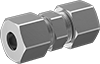 High-Pressure Compression Fittings for Stainless Steel Tubing