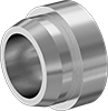 O-Ring Face Seal Tube Adapters for Stainless Steel Tubing
