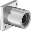 Chemical-Resistant Flange-Mounted Linear Sleeve Bearings
