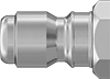 Open-Flow Quick-Disconnect Hose Couplings for Air and Water