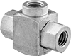 Pressure-Driven Threaded Diverting Valves