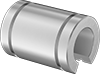Food Industry Linear Sleeve Bearings for Support Rail Shafts