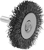 Wheel Brushes with Shank