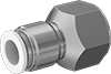 Brass Push-to-Connect Fittings for Plastic Tubing—Food, Beverage, and Dairy