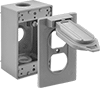 Weatherproof Outlet Boxes and Covers