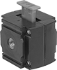 Safety Lockout Valves for ARO Modular Compressed Air Filter/Regulator/Lubricators (FRLs)