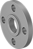 Low-Pressure Galvanized Steel Threaded Pipe Flanges